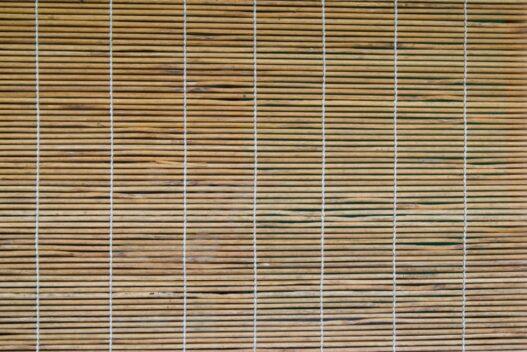 Bambus rullegardin